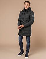Зимняя молодежная мужская курточка | темно-зеленая