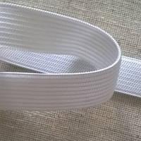 Эластичная тесьма (резинка эластичная) т. 20 мм белый