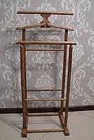 Вешалка напольная для одежды из натурального дерева (ясень)