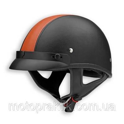 Vega NT-200 (XTS) Leather Stripe Черный/Оранжевый, XS Мотошлем каска