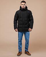 Зимняя молодежная мужская куртка пуховик | темно-зеленая