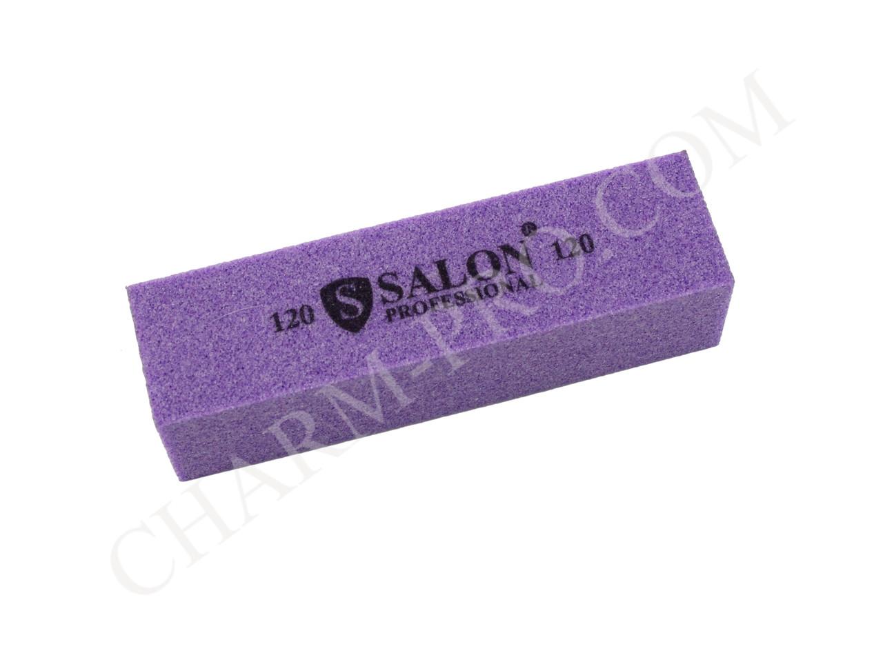 Бафик для ногтей Salon 120 grit
