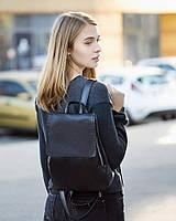 Рюкзак з клапаном чорний титан, фото 1