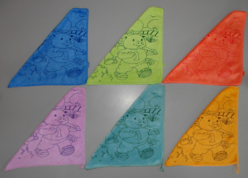 Полотенце салфетка для рук микрофибра 30х30 см