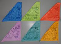 Полотенце салфетка для рук микрофибра 30х30 см , фото 1