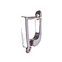 Швензы для сережек 1,7см пара английский замок Код:574799244