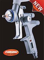 Пневматичний фарборозпилювач LVMP верх.пласт.бачок 600мл, форсунка-1,4 мм Italco H-5000-Digital-1.4 LM, фото 2