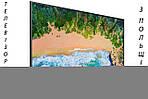 Телевизор SAMSUNG UE55NU7093 Smart TV 4K/UHD 1300Hz T2 S2 из Польши 2018 год, фото 2