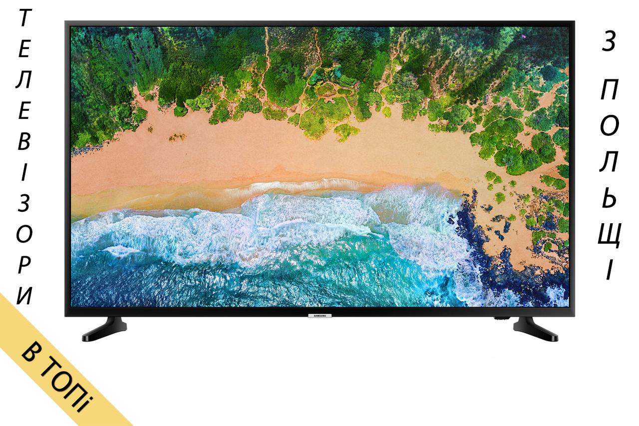 Телевизор SAMSUNG UE55NU7093 Smart TV 4K/UHD 1300Hz T2 S2 из Польши 2018 год