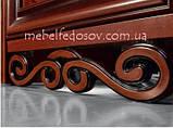 Витрина 2-х дверная Хлоя 1350х2110х460мм  (Скай) , фото 2