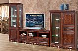 Витрина 2-х дверная Хлоя 1350х2110х460мм  (Скай) , фото 3