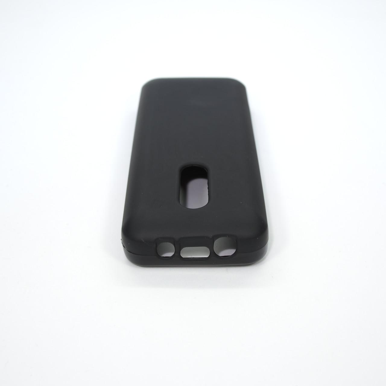 Чехлы для Nokia Silicon 105 black Для телефона