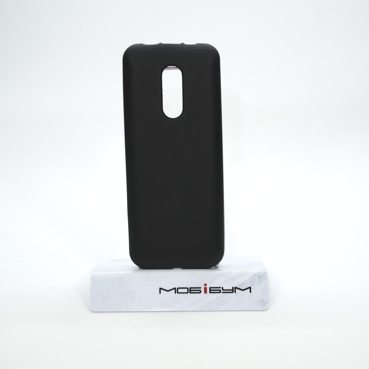 Чехол Silicon Nokia 105 black