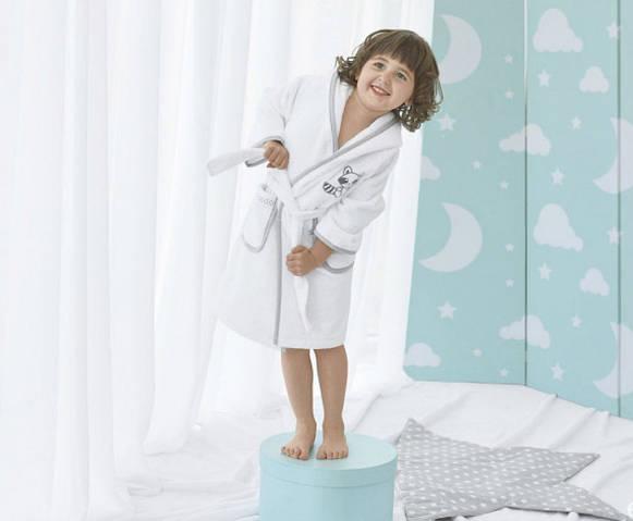 Детский махровый халат Енот тм Идея (116см)