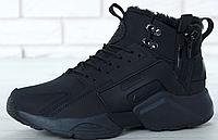 Кроссовки Мужские Зимние Nike Huarache X Acronym City Winter, найк аир хуарачи зима, реплика