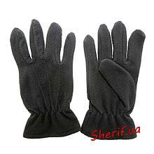 Перчатки флис Polarex (черные)  Reis