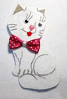 Нашивка на карнавальный костюм Кошечка размер 8х16см