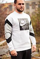 Толстовка мужская Nike Air Crew Fleece 928635-051 Серый