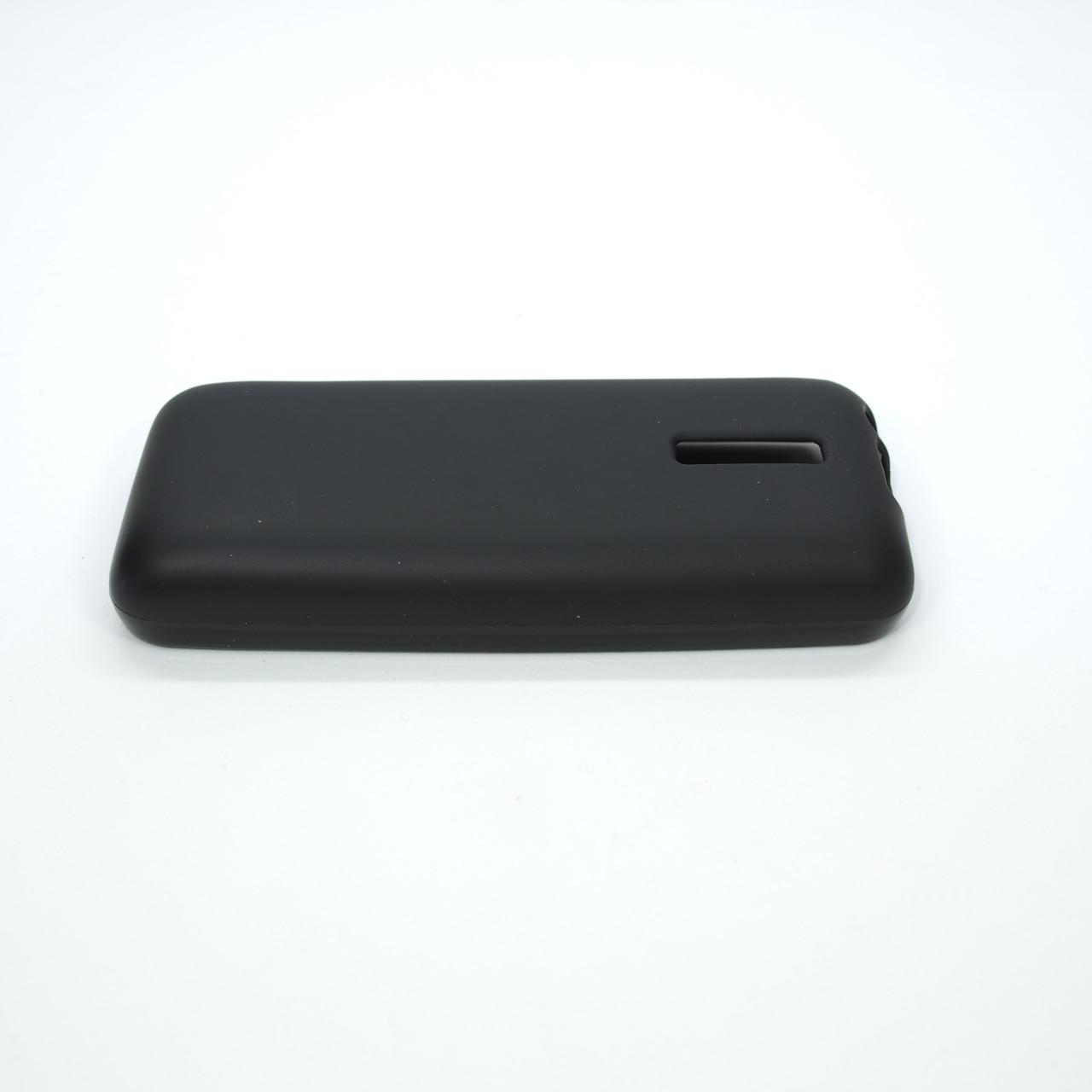 Silicon Nokia 130 black Для телефона