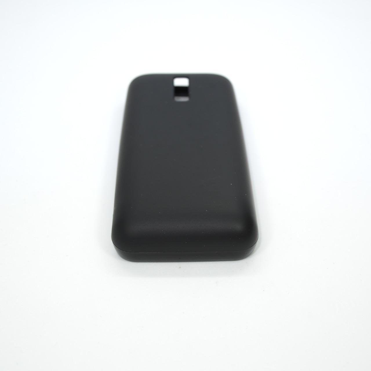Чехлы для Nokia Silicon 130 black Для телефона
