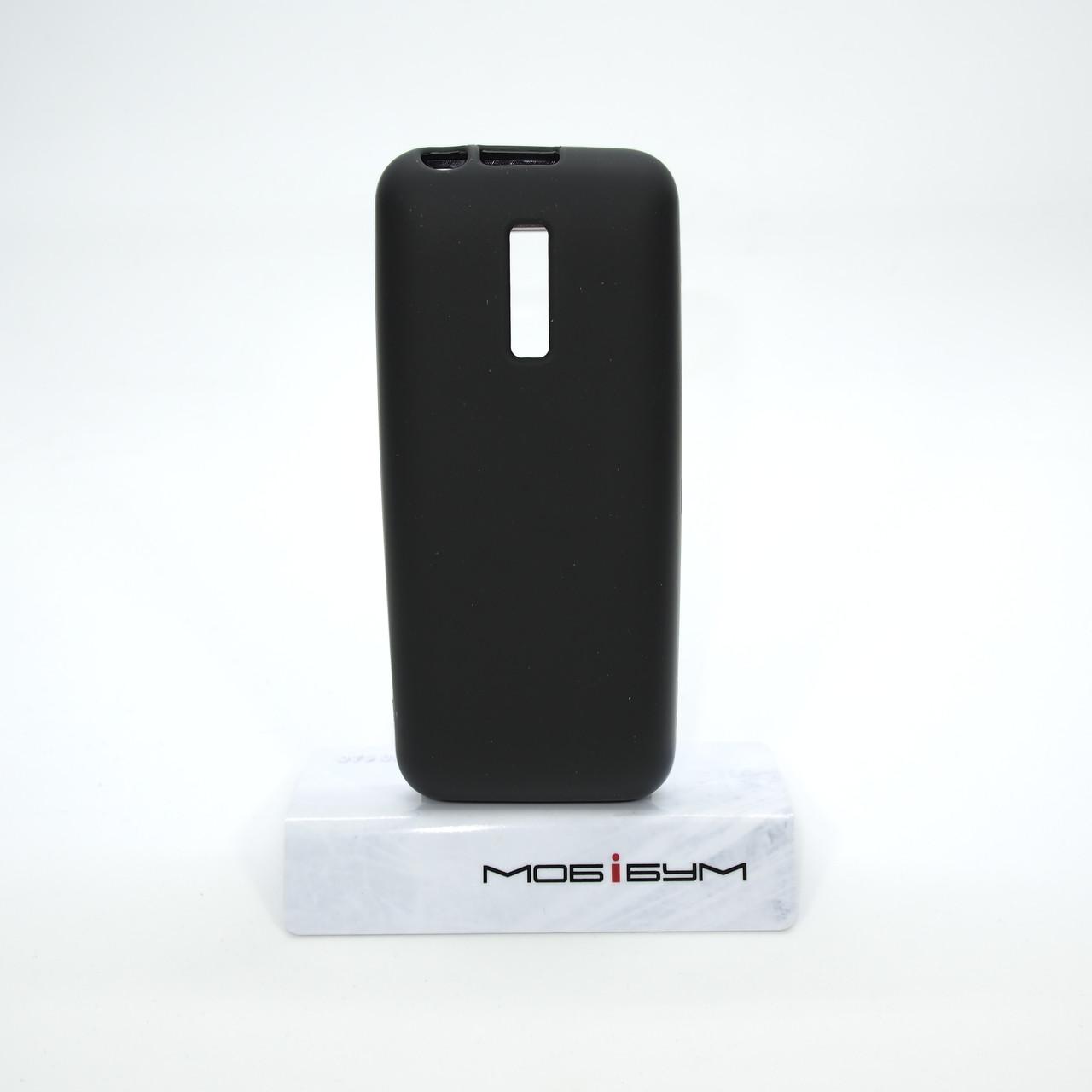 Чехол Silicon Nokia 130 black