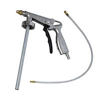 Intertool PT-0703 Пистолет под гравитекс пневматический с гибкой насадкой