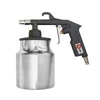 Intertool PT-0705 Пистолет пескоструйный пневматический с бачком
