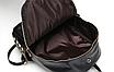 Рюкзак женский кожзам Kelli Черный вертикальный карман, фото 6