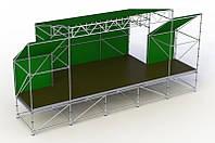 Тент оформление сцен, подиумов, площадок