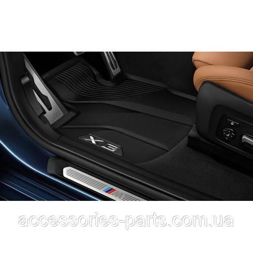 Коврики в салон резиновые BMW X3 G01 Новые Оригинальные