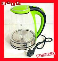 Чайник стекло Keda MKR BL18D