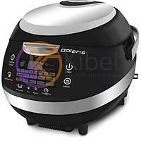 Мультиварка Polaris PMC 0566D Black, 880W, 5л, сенсорное управление, антипригарное покрытие чаши, 18 программ, таймер