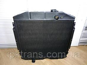 Радиатор водяной ГАЗ 53  3-х рядный медный  (53-1301010-С) 531301010С