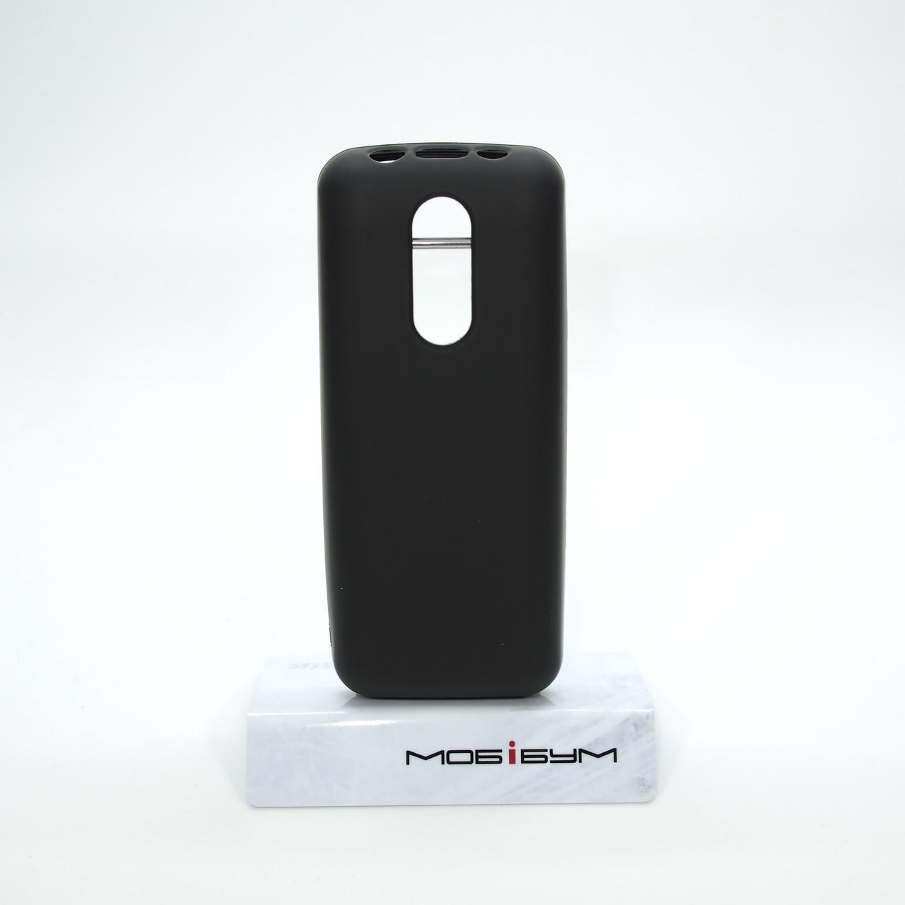 Чехол Silicon Nokia 106/107 black