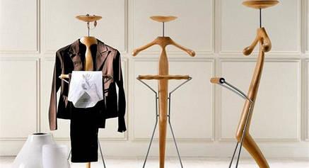 Напольная вешалка для одежды с держателем для галстука и полочкой для вещей, фото 2