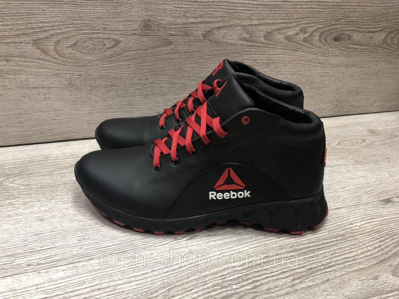 Зимние мужские кроссовки с мехом в стиле  Reebok