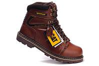 Демисезонные мужские ботинки Caterpillar коричневые