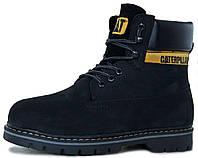 Женские зимние ботинки Caterpillar Colorado Winter Boots Black Катерпиллер  Колорадо черные с мехом 528e139e7cbec