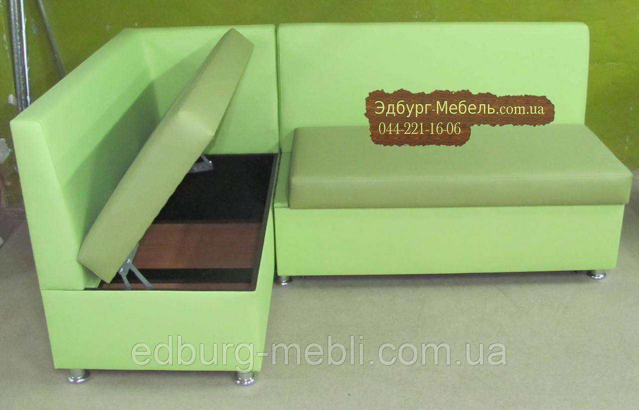 Кухонный уголок = кровать салатовый + оливковый цвет