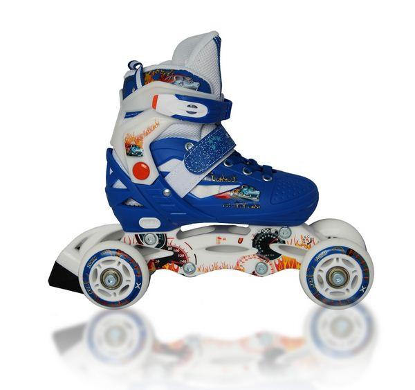 Раздвижные роликовые коньки LENEXA синие