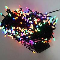 Гирлянда Нить Семечка Перламутр LED 500 мульти, чёрный провод (1-48)
