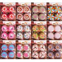 Бумажные формочки для кексов 100 штук