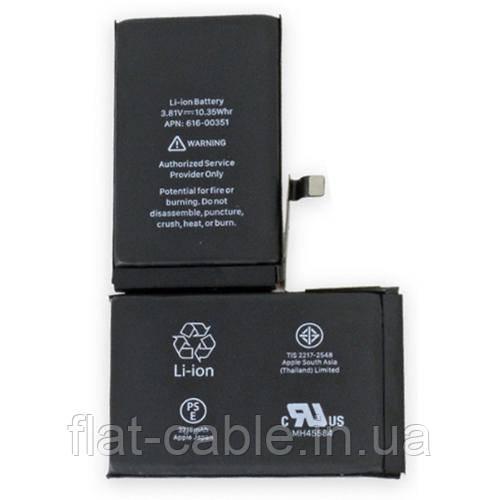 Батарея (аккумулятор) для iPhone X 100% (оригинал китай) 2716 mAh