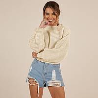Женский свободный свитер с широкими рукавами 6504440, фото 1