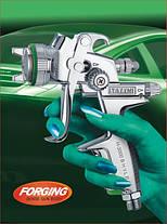 Професійний фарбопульт для фарбування авто HVLP, 600мл, 1,7 мм ITALCO H-3003A-1.7, фото 2