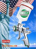 Профессиональный краскопульт для покраски авто HVLP,  600мл, 1,7мм ITALCO H-3003A-1.7, фото 3