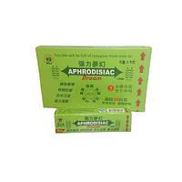 Возбуждающие жвачки для девушек и женщин Aphrodisiac Dream (Афродизиак), 6 пачек по 5 пластинок