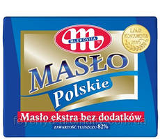 Сливочное масло Mlekovita Maslo Polskie 200гр (Польша)