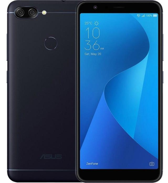 "Смартфон Asus ZenFone 4S Max Plus 4/32Gb Black, 16+8/8Мп, 4130 мАч, 2sim, 5.7"" IPS, MT6750T, M1 ZB570TL"