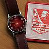 ЗИМ советские механические часы СССР